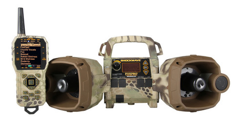FOXPRO Shockwave in Kryptek Highlander Camo with TX1000 remote control