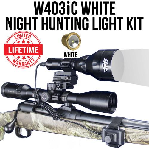 Wicked Lights W403iC WHITE Night Hunting Light Kit thumbnail