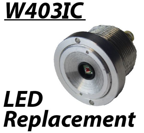 Wicked Lights White 800 Intensity Control LED (wider beam, shorter range)
