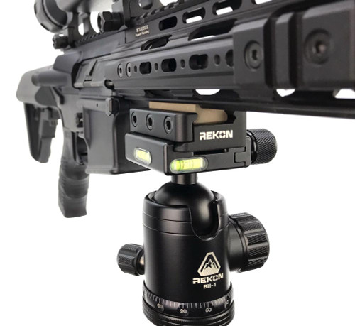 REKON Tripod Adaptor Picatinny Rail to Arca-Swiss Mount RTA1