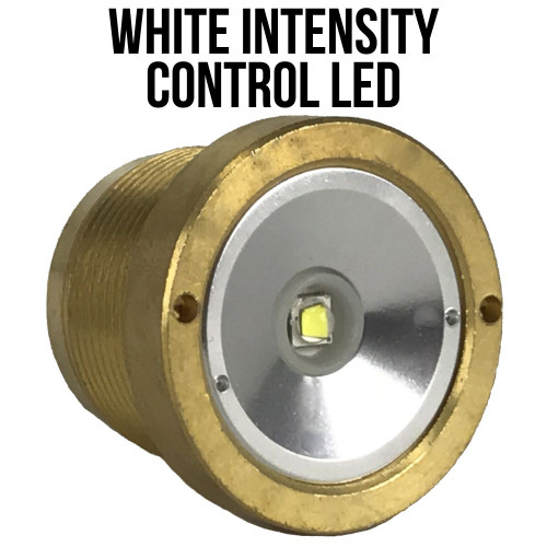 Wicked Lights WHITE X-Long Range Replacement Intensity Control LED for W403iC, A48iC, and ScanPro iC