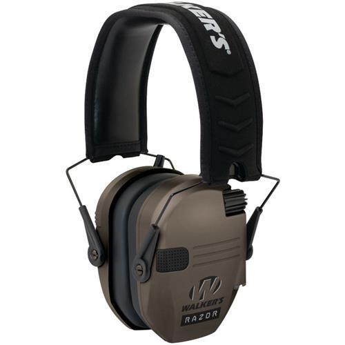 Walkers Razor Slim Shooter Folding Electronic Ear Muff FDE Flat Dark Earth GWP-RSEM-FDE