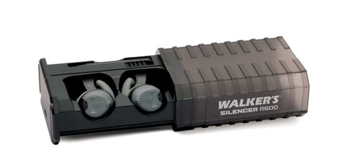 Walker's Silencer R600 Rechargeable ELECTRONIC EAR Protection Ear Buds (Pair) GWP-SLCRRC