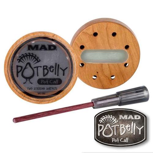 MAD Pot Belly Pot Call Turkey Hunting Pot Call MD-360