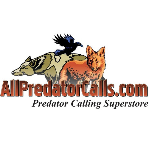 "AllPredatorCalls.com 4"" x 8"" Color Logo Vehicle Window Decal"