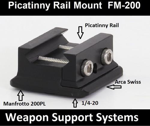 Field Optics Research FM-200 Picatinny Rail Mount