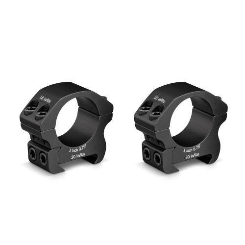 "Vortex Optics Pro 1"" Riflescope Ring Set Low"