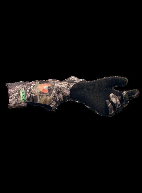 Primos Hunting Stretch-Fit Call Glove W/ Sure Grip Mossy Oak Break-UP 6398