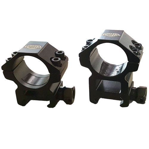 Wicked Lights HIGH and LOW 1 Inch Diameter Light Mount 2-Pack for Attaching on Picatinny Rail Mount