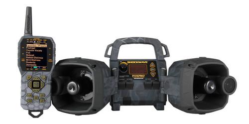 FOXPRO Shockwave Digital Caller Kryptek Typhoon Camo with 100 Calls & TX-1000 remote SW1