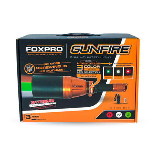 FOXPRO Gunfire 3-Color Selectable Night Hunting Light