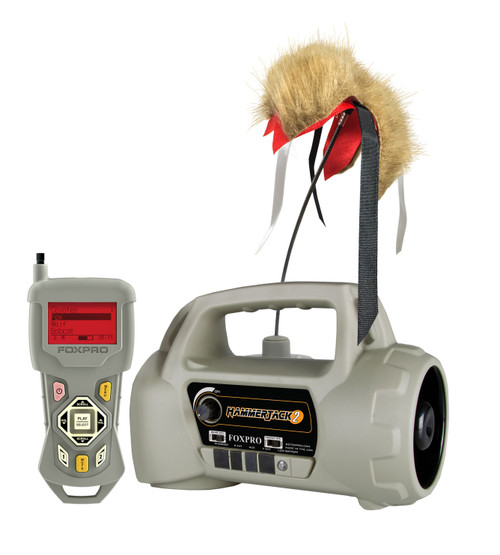 FOXPRO HammerJack 2 Digital Game Call with 100 Sounds & TX433 Remote