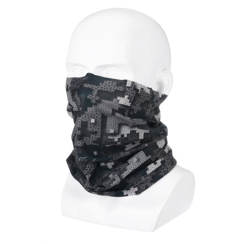 Wicked Woods NIGHT Camo Tubular Design Facemask