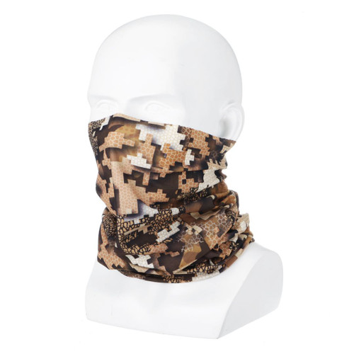 Wicked Woods MULTI-TERRAIN Camo Tubular Design Facemask
