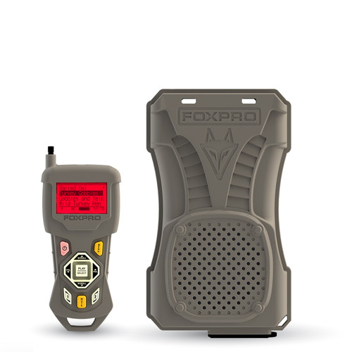 FOXPRO TurkeyPro Remote Controlled Electronic Game Call with 45 custom sounds