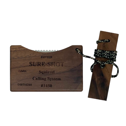 Sure-Shot Imperial Squirrel Calling System 3-In-1 Call Model 1450