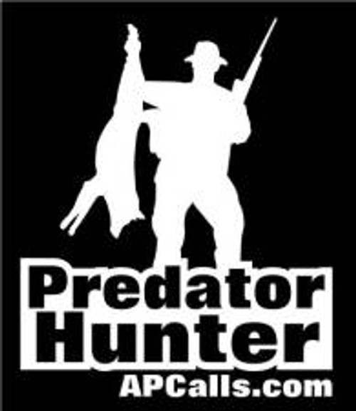AllPredatorCalls Predator Hunter no. 2 Vehicle Window Decal