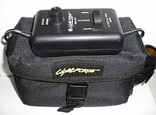 Lightforce Battery Carry Bag and BPS Power Saver Control only no battery (OPEN PACKAGE SPECIAL) LA138