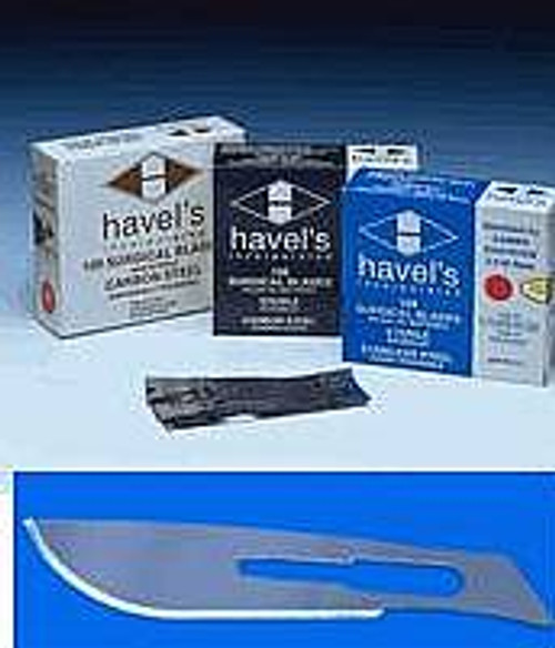 Havalon 12 Replacement Knife Blades for Tracer 22 Knife #22 D