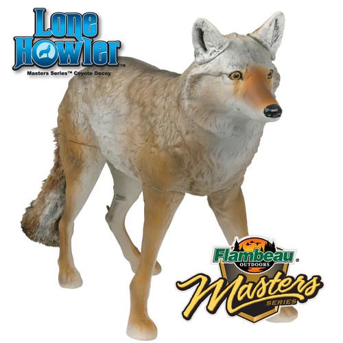 Flambeau Lone Howler Coyote Predator Decoy 5985