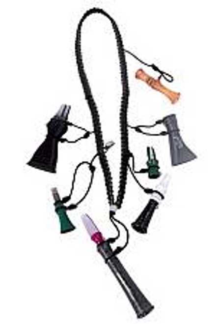 Primos 5 Call Lanyard with Remote Control Split Ring Clip 69628