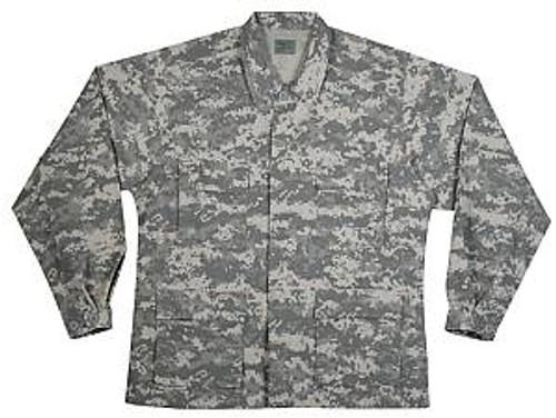 Mil Spec Plus Army ACU Digital Camo BDU Jacket 207953AD