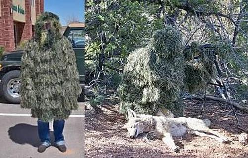 Kill Suit® Sapper Ghillie Suit Woodland, String Material APC002W