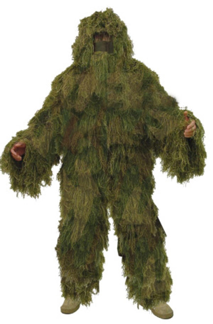 Mil Spec Plus DELUXE Fat Boy Ghillie Suit Woodland Camo 9206DELUX