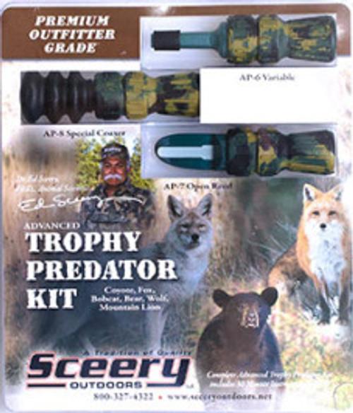 Sceery Game Calls Advanced Trophy Predator Kit APKP