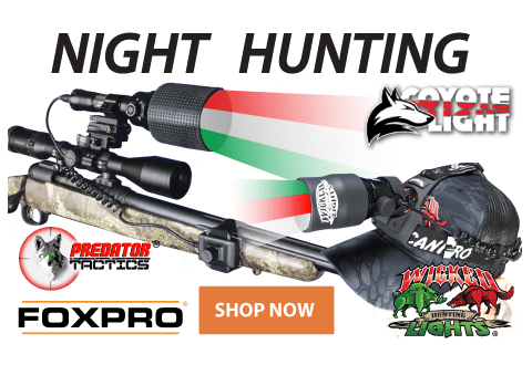 Click to see our selection of Night Hunting Lights!