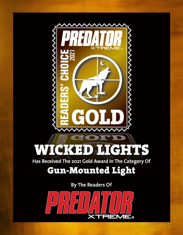 Wicked Lights 2021 Gun Mounted Light of the Year