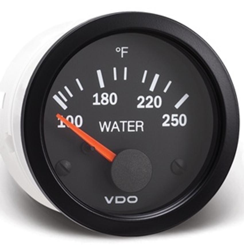 VDO Vision Water Temperature  Part #310-105  0-250 F