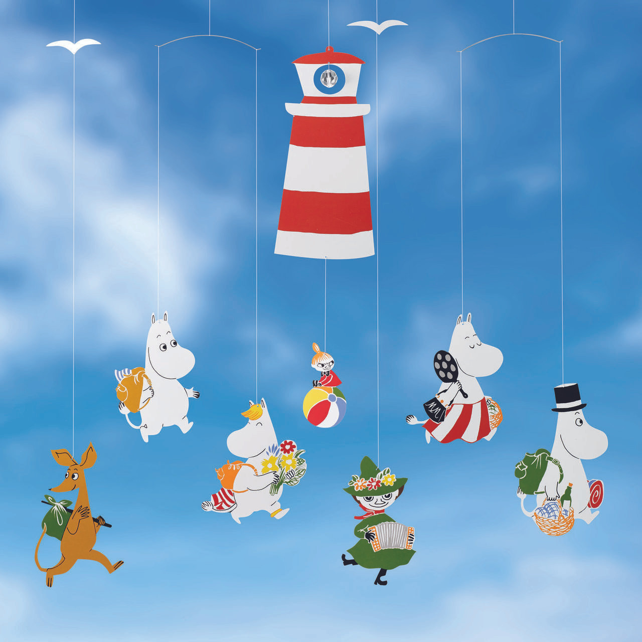 Flensted Moomin Mobile lighthouse