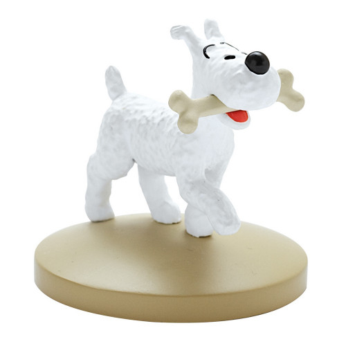 Tintin Figure Milou with Bone