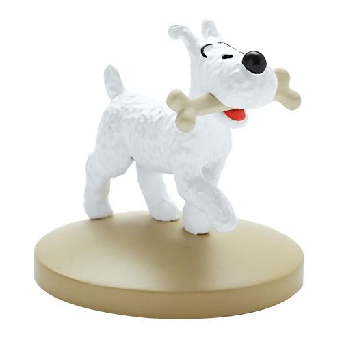 Tintin Figure Milou with Bone