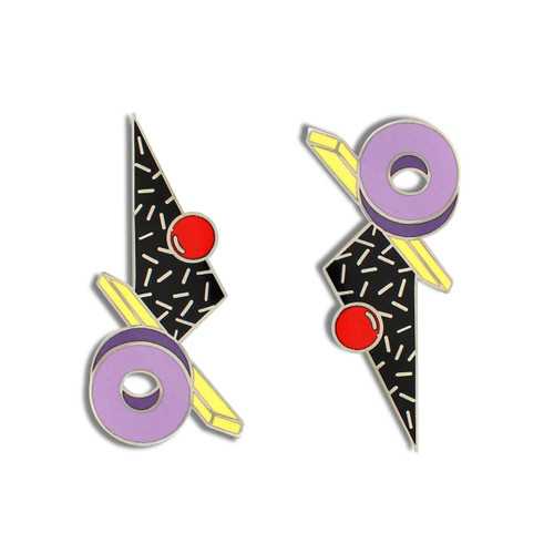 Memphis Design Archive Proton Earrings