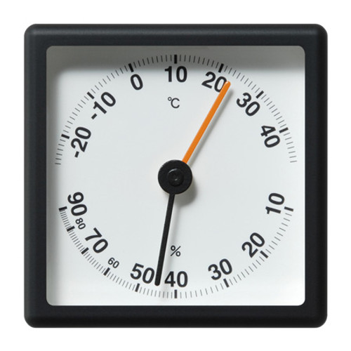 2.5R Thermometer - Hygrometer black