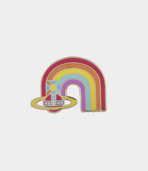 Vivienne Westwood Dorothy Rainbow Enamel Badge