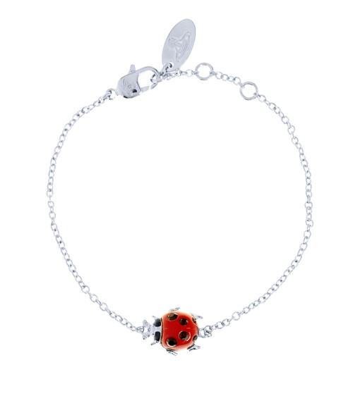 Vivienne Westwood Ladybird Bracelet rhodium