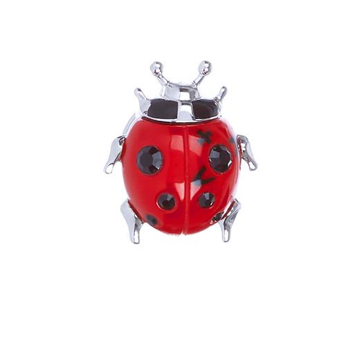 Vivienne Westwood Ladybird Pin rhodium