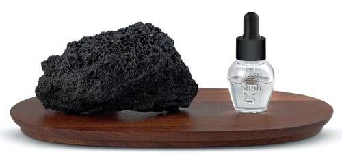 Dropper Lava Stone Fragrance Diffuser with Shhh Essential Oil