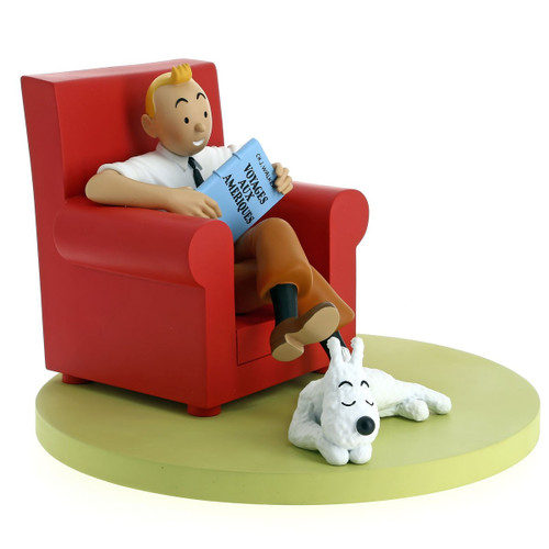 Tintin Icons Red Armchair / Fauteuil