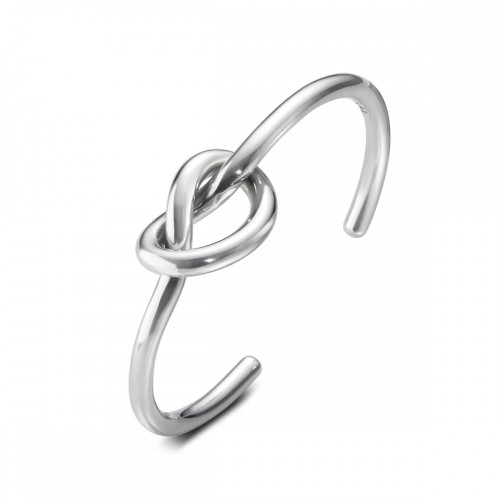 Love Knot Bangle silver