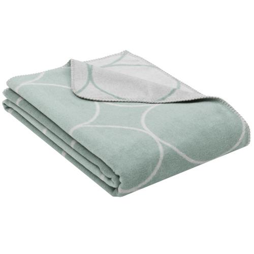 Fussenegger Blanket-Throw / Bamboo Circles jade