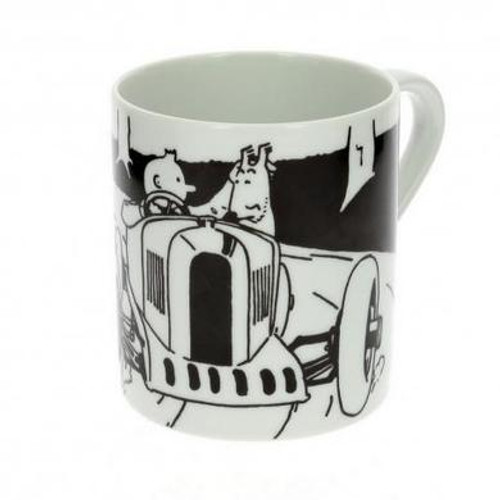 Tintin Mug Soviet Auto