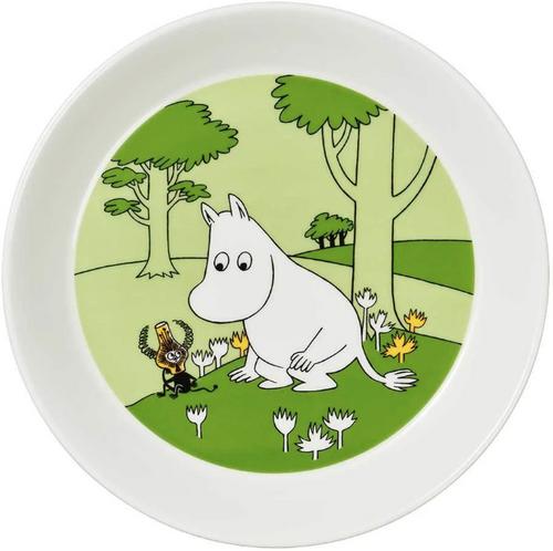 arabia moomin plate moomintroll