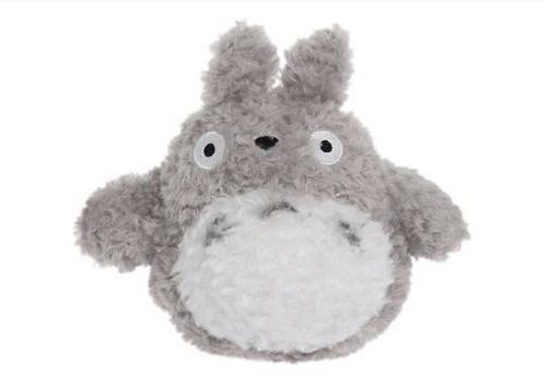 """Totoro Plush 6"""" grey"""