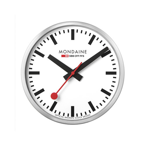 Official Swiss Railways Wall Clock [25 cm Ø]