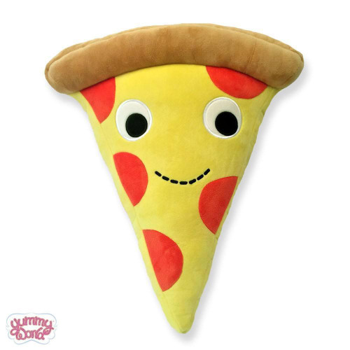 Yummy World Cheesy Pie Plush Pillow 10""
