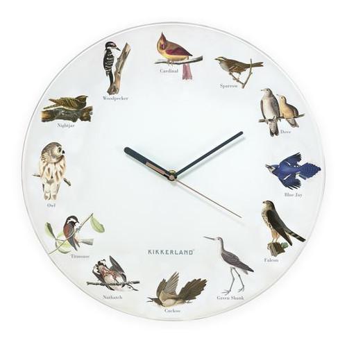 Audobon Bird Call Clock